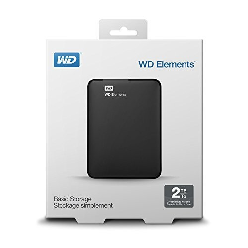 "Festplatte WD Elements port. 6,35cm (2,5"") 2TB USB 3.0"