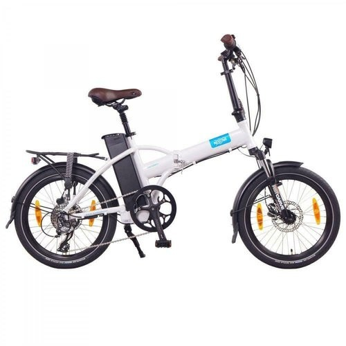 "NCM ""London Plus "" 50,8 (20"") E-Klapprad Weiss"