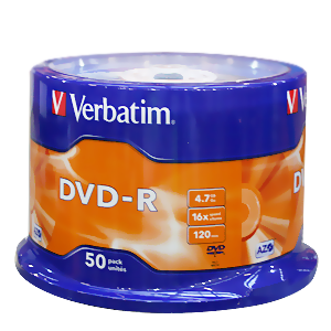 Verbatim DVD-R 4,7GB 50er CakeBox