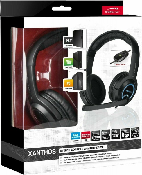Speedlink Xhantos Gaming Stereo HEADSET USB