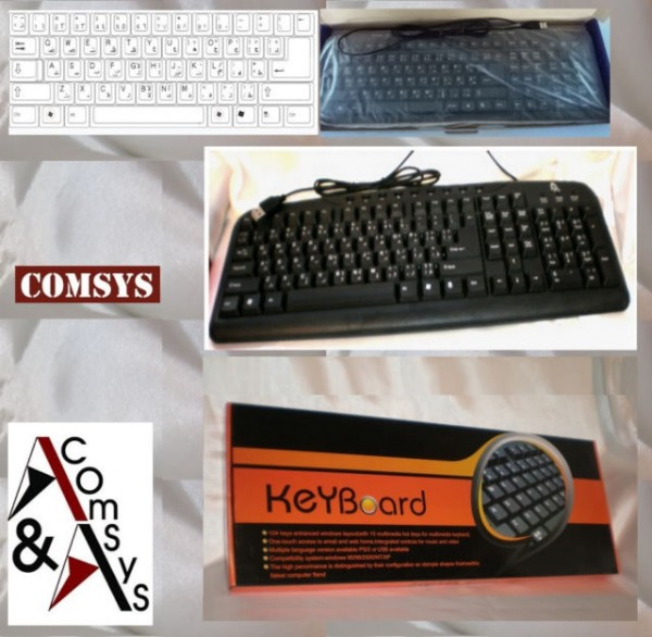 USB Keyboard English/Arabic