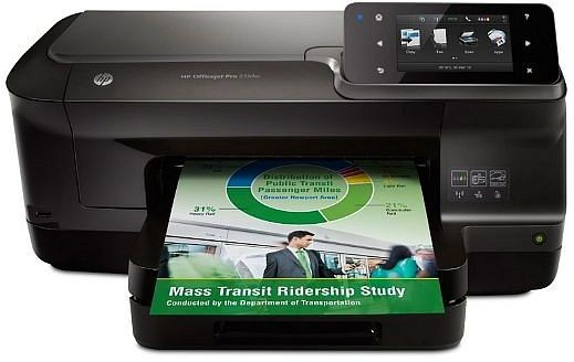 HP Officejet Pro 251dw Demoware