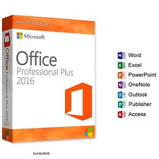 Software MS Office 2016 Prof. Plus OEM