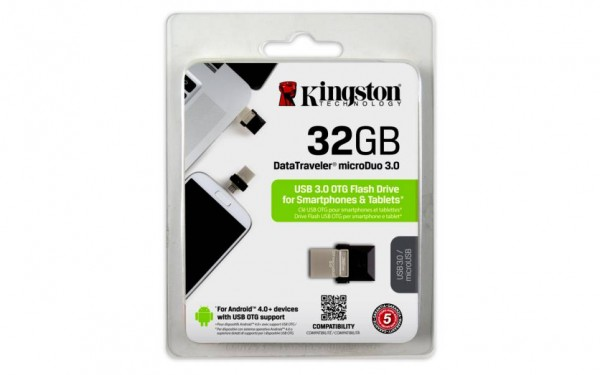 Kingston DataTraveler 32GB microDuo 3.0