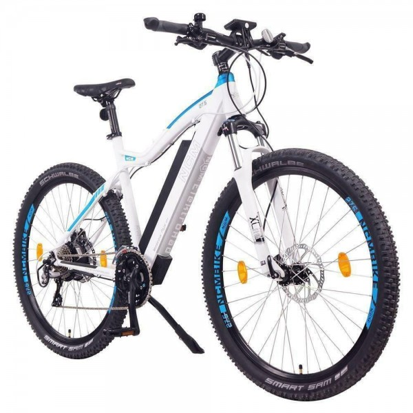 "NCM ""Moscow Plus "" Mountain E-Bike 69,85 (27,5""),weiss"