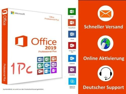 Software MS Office 2019 Prof. Plus OEM-Copy