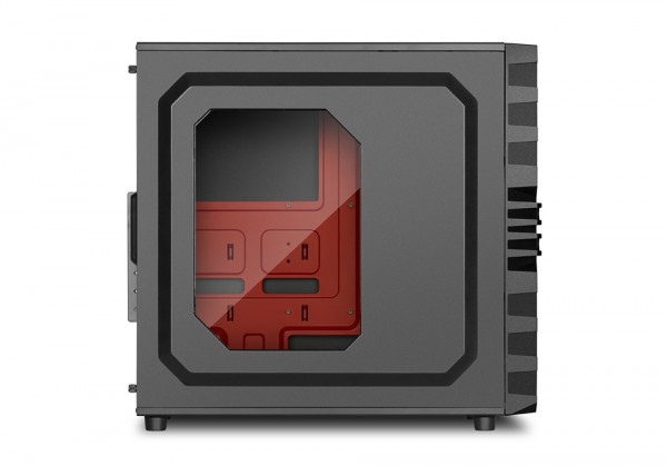 Sharkoon ATX Pc Case VG4-W RED