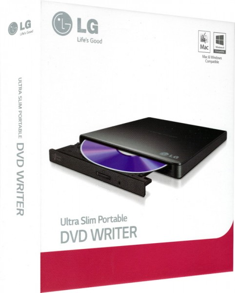 "LG Extern Ultra Slim Portable DVD-Writer ""GP57EB40"""