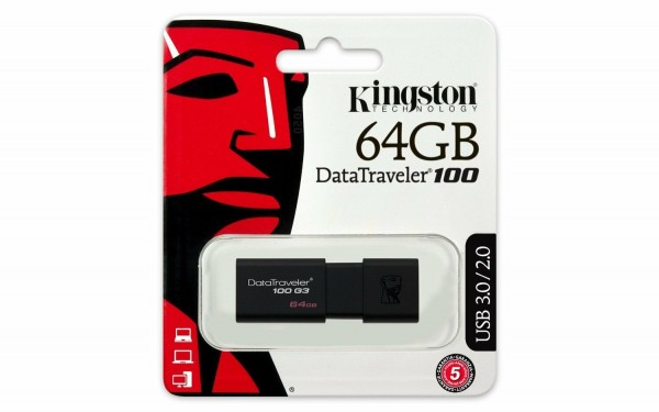 USB Stick 3.0 64GB Kingston DataTraveler DT100G3